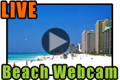 Click to view Panama City Beach live beach webcam